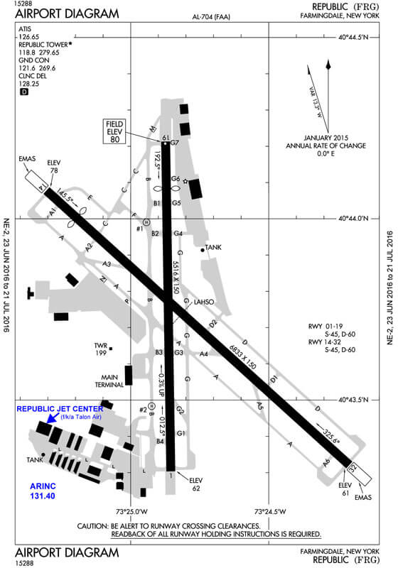 Farmingdale Republic Airport Terminal